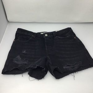 Topshop Moto Vintage Ashley Boyfriend Shorts